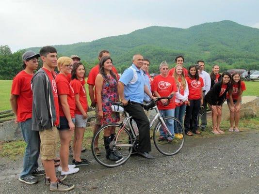 Cherokee bike riders retrace Trail of Tears