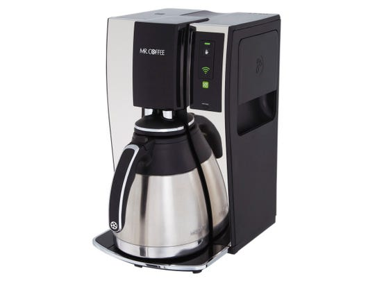 The Mr. Coffee Smart Optimal Brew Coffeemaker with WeMo.