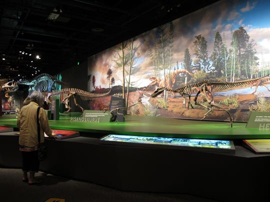 A special dinosaur exhibit and movie takes over a part of the Science Museum of Minnesota this summer.