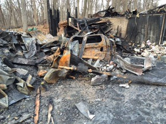 While Alan and Mary Brody's home at 6 Woodland Heights burned to the ground in the early hours of Dec. 16, they got out of the house with everything they needed.