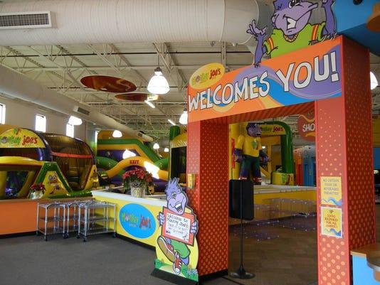 Bouncing begins at Monkey Joe's