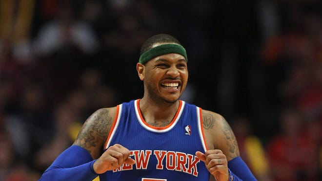 """Knicks President Phil Jackson said Thursday he hasn't gotten a call from Carmelo Anthony, but he """"expected one yesterday and the day before yesterday."""""""