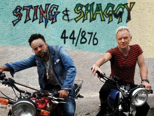 """44/876"" by Sting & Shaggy"