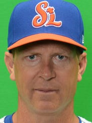St. Lucie Mets manager Chad Krueter