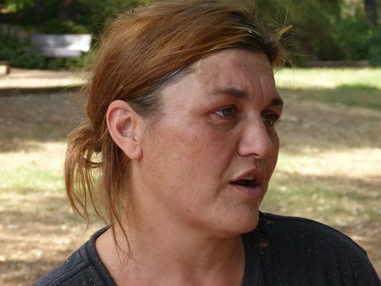 Nichole Russell talks about Friday's fatal stabbing.