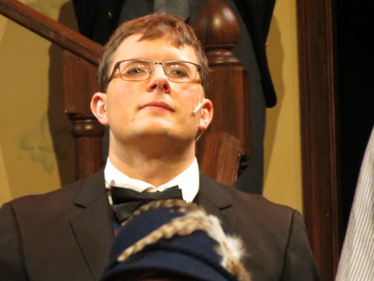 Jason Stafford in character as Horace in GREAT Theatre's