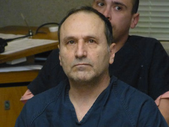 Redding doctor Hamid Rabiee, shown Wednesday in Shasta County Superior Court, is accused of sexually abusing female patients.