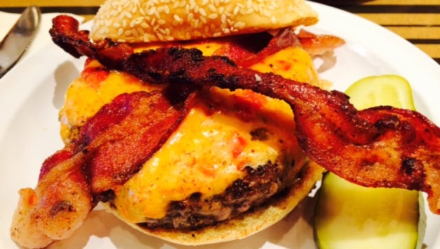 Love pimento cheese on your burger? Don't be shy, ask for it. The manager says they will accommodate burger requests as long as they have ingredients on hand.