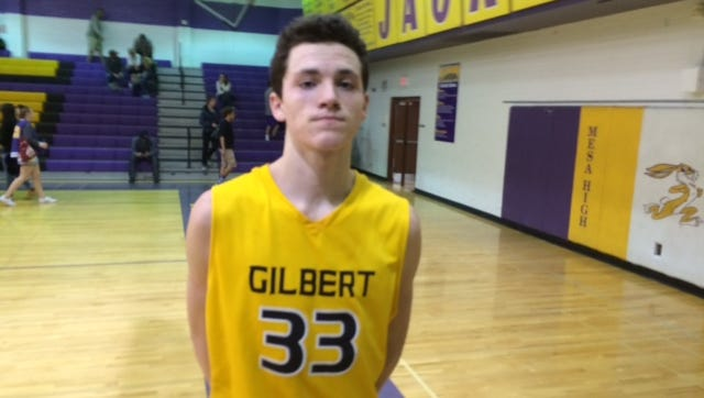 Chris Bowling and the Gilbert Tigers defeat the Mesa Jackrabbits in OT on Jan. 6.