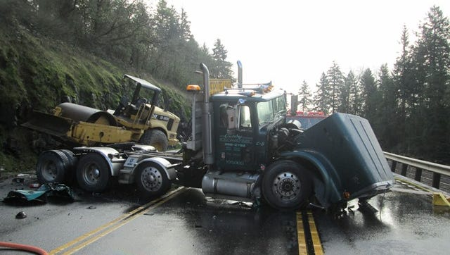 A fatal crash has occurred on Highway 99 near Canby.