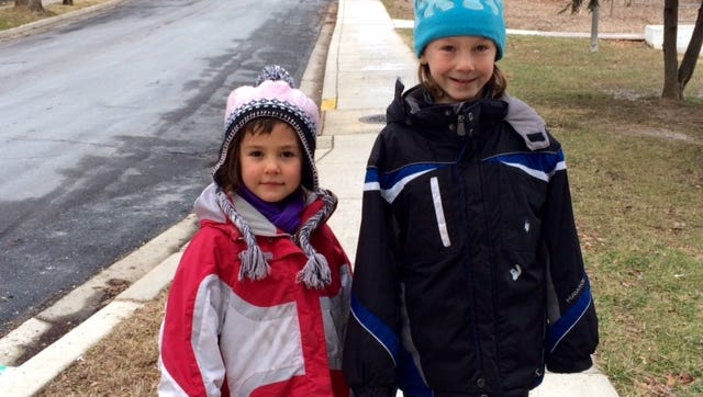 Dvora Meitiv, 6, and Rafi Meitiv, 10, are allowed by their parents to walk around their Silver Spring, Md., neighborhood unaccompanied by an adult.