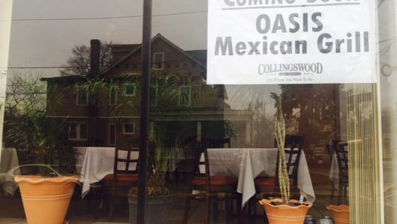 Oasis Mexican Grill is in the former Stella's location,