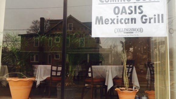 Oasis Mexican Grill is in the former Stella's location, and will hold a soft launch on Wednesday.