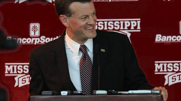 Mississippi State athletic director Scott Stricklin