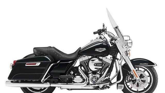 2015 Harley Davidson FLHR Road King Rushmore Series valued at $19,189.