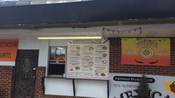 The walk-up taco window at Rivera Famous Grill in Hockessin has been open for about a year.