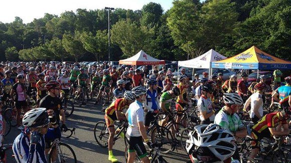 The 50-mile Collier Lilly Bike Ride makes its debut at the Mountain Sports Festival Sunday in Asheville.