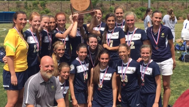 Asheville Christian Academy won the NCISAA 2-A championship last month in Winston-Salem.