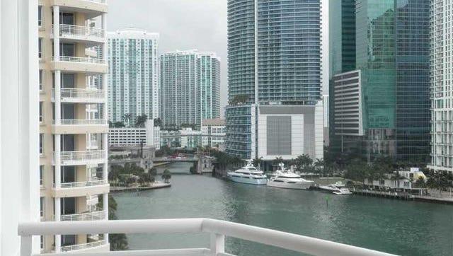 Reggie Wayne's Miami condo is up for rent.