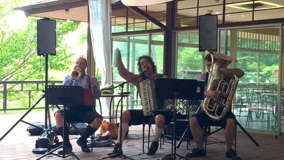 Polkadelphia performs at Winterthur on select Fridays throughout the summer.