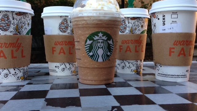 Starbucks' fall flavors.