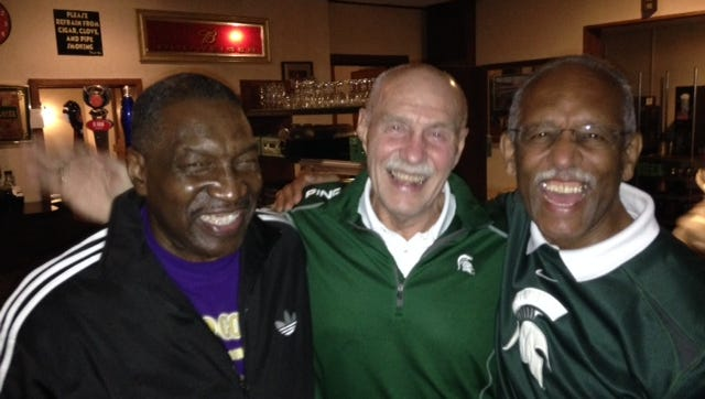 Jim Summers, Dave Techlin and Sterling Armstrong all lettered for MSU's 1965-66 teams that went a combined 19-1-1.