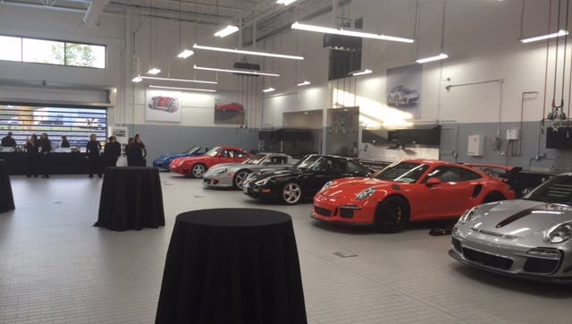 Paul Miller Porsche doubled the size of its service department with the opening of its new 30,000-square-foot dealership on Route 46 in Parsippany.