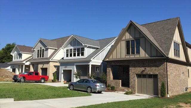 An example of homes being built on Kimbark Drive in Green Hills.