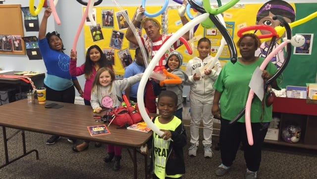Everyone had fun when JoJo the Clown visited Cumberland County Library in Bridgeton on Oct. 3.
