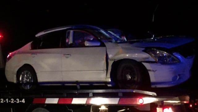 Crash scene in Rockledge.