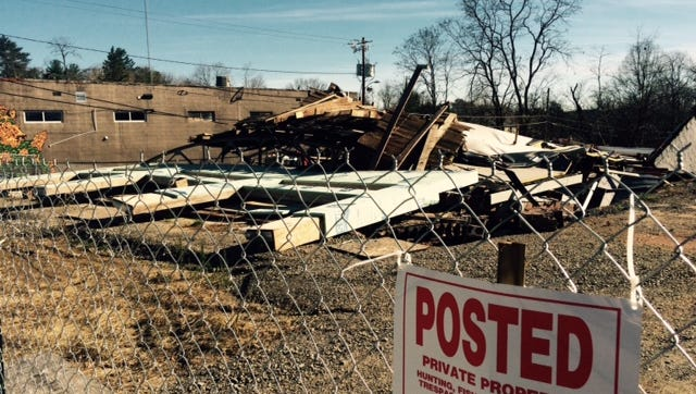 Clearing and construction should begin next year on this site on Haywood Road, where a building under construction collapsed last year.