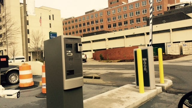 Mission Hospital says its security team regularly patrols the facility's five parking decks.