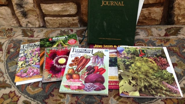Seed catalogs make good fodder for garden daydreaming.