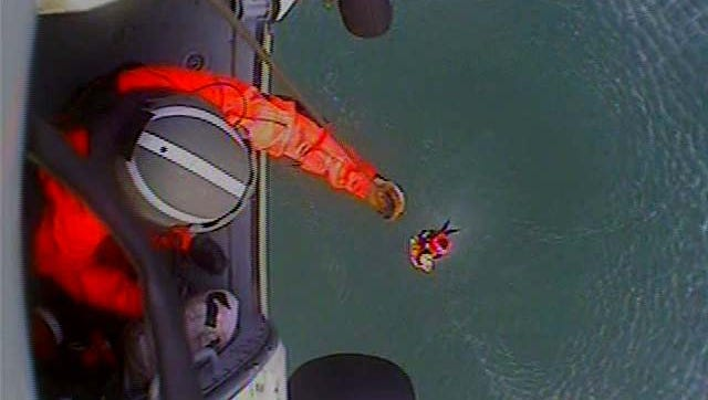 The Coast Guard rescued a teen injured near Cape Lookout on Dec. 26.