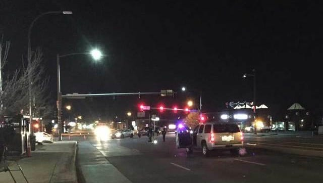 Lakewood police arrested a drunken driving suspect who they say hit and killed a woman crossing the middle of Colfax Avenue late Thursday night.