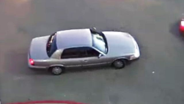CrimeStoppers released video surveillance still of a vehicle, whose owner police want for questioning.