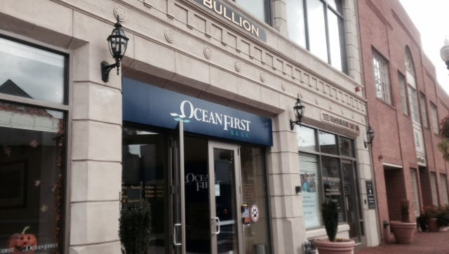 An OceanFirst Bank branch in Red Bank. MICHAEL L. DIAMOND/STAFF PHOTO OceanFirst Bank is planning to acquire Sun National Bank. An OceanFirst Bank branch in Red Bank. MICHAEL L. DIAMOND/STAFF PHOTO An OceanFirst Bank branch in Red Bank. MICHAEL L. DIAMOND/STAFF PHOTO