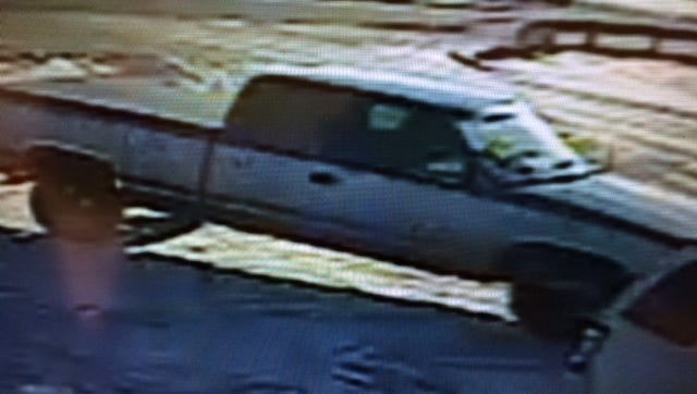 A photo of the Brockway Township bank robbery suspect's vehicle has been released by the sheriff department.