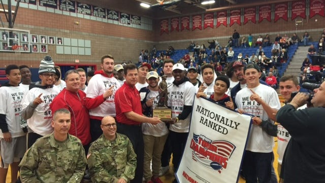 The Centennial football team finished the 2015 season ranked among the top 50 in the nation.