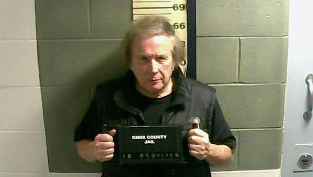 """This Monday, Jan. 18, 2016 photo provided by the Knox County Jail shows Don McLean. A jail supervisor said """"American Pie"""" singer McLean bad been arrested on a misdemeanor domestic violence charge in Maine."""