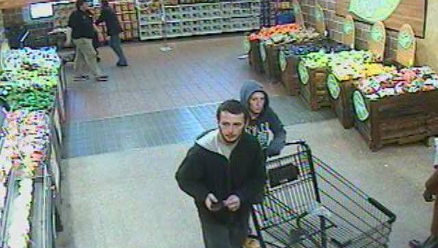 This pair is sought for stealing merchandise from a local store.