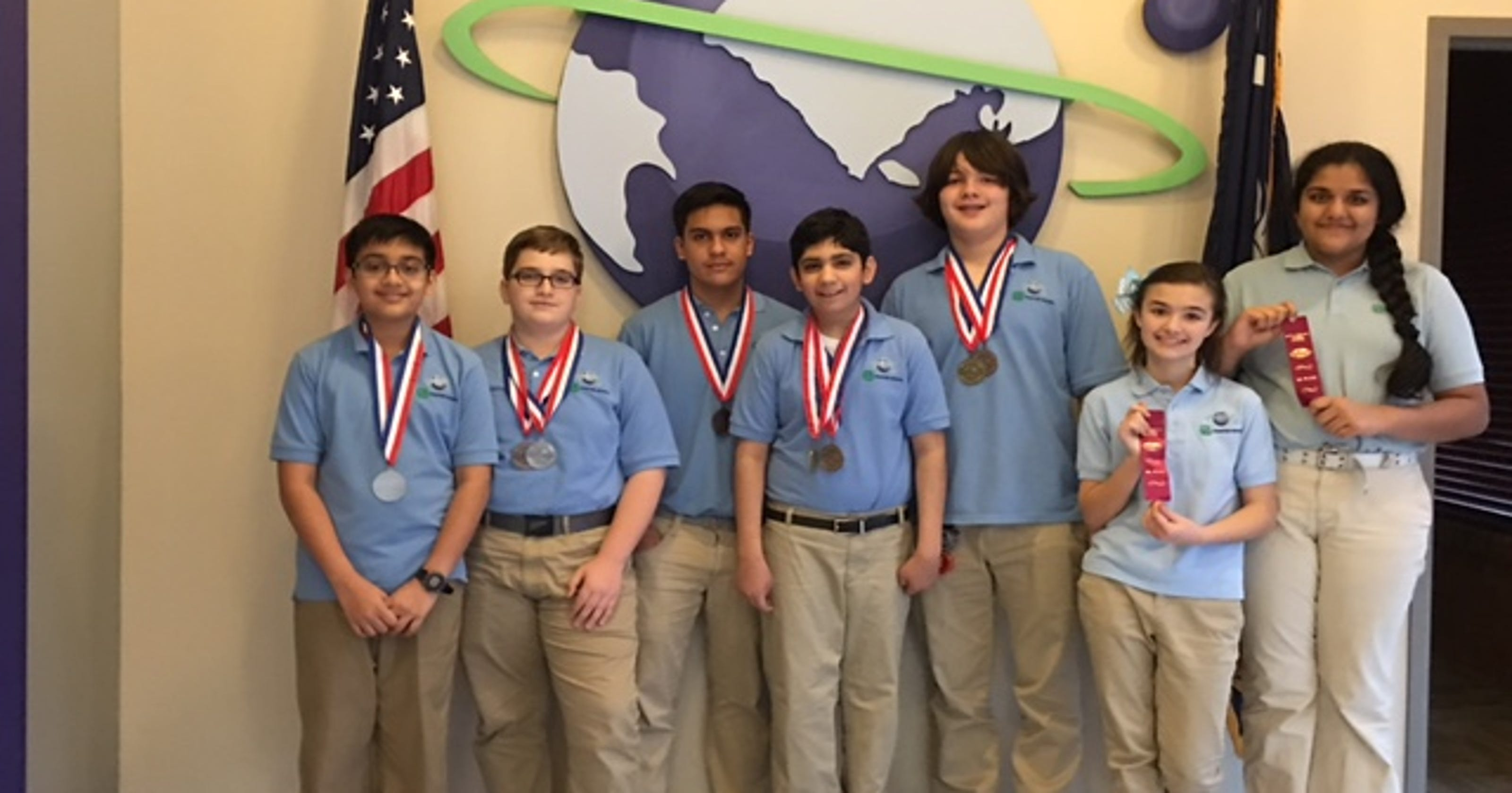 Green Charter students win at Science Olympiad