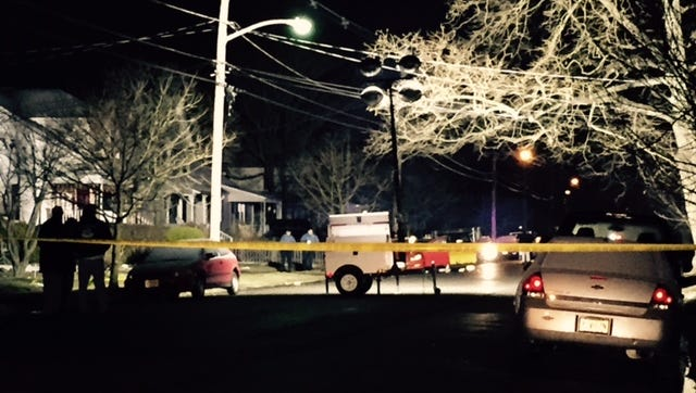 Seventh Avenue between Route 35 and Ridge Avenue in Neptune was shut down Monday night as police investigated a shooting that left one man in critical condition.l
