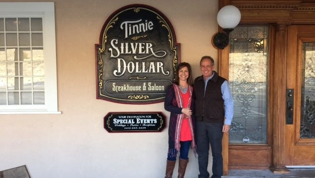 The Tinnie Silver Dollar is now owned by Rick and Lynette Rhoads, who bought the landmark at auction last month.