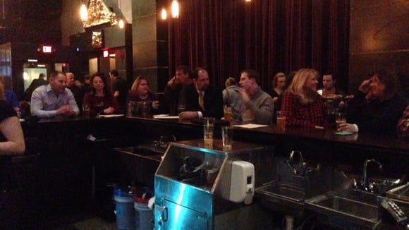 People flocked to Roak Thursday night to taste the beer named Lyin' Eyes in tribute to Glenn Frey.
