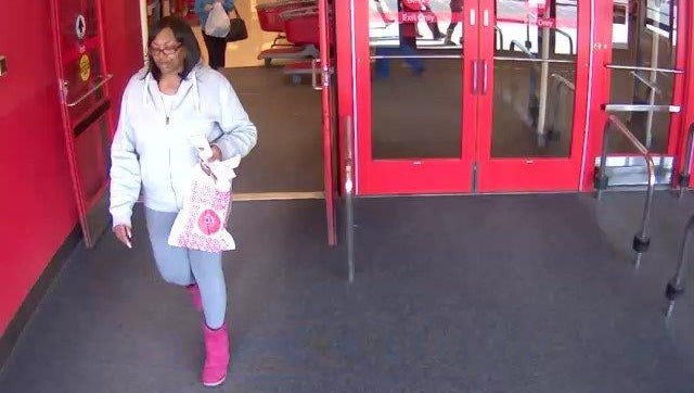 Brick police say this woman stole a purse at Walmart and charged $600 on the credit cards at Target.