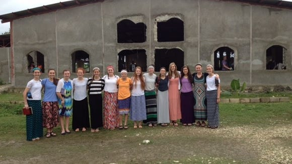 The Asheville Christian Academy girls soccer team took a mission trip to Haiti last month.