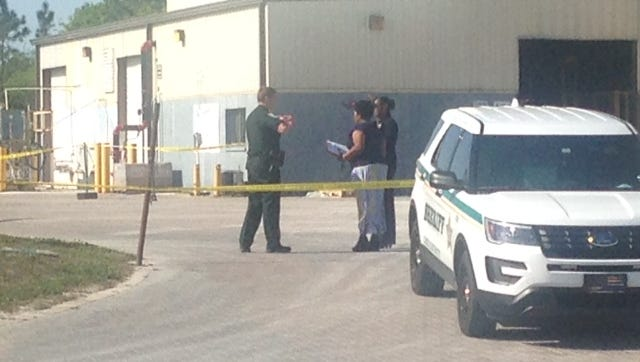 The death of a worker at a Lehigh Acres concrete products plant prompted a death investigation by the Lee County Sheriff's Office on Wednesday.