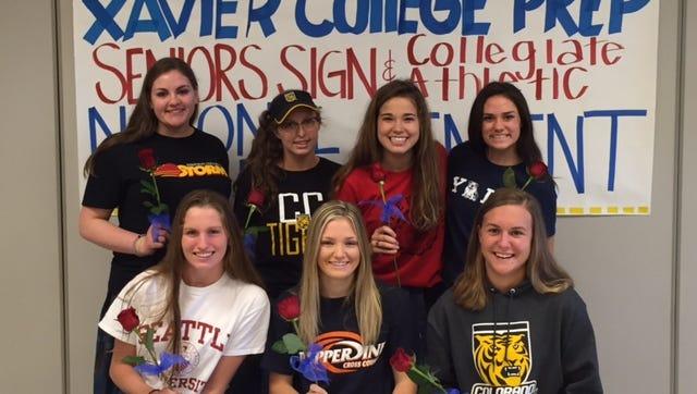 Phoenix Xavier Prep, an all-girls school, is up to 26 seniors who have signed letters with four-year colleges this school year.