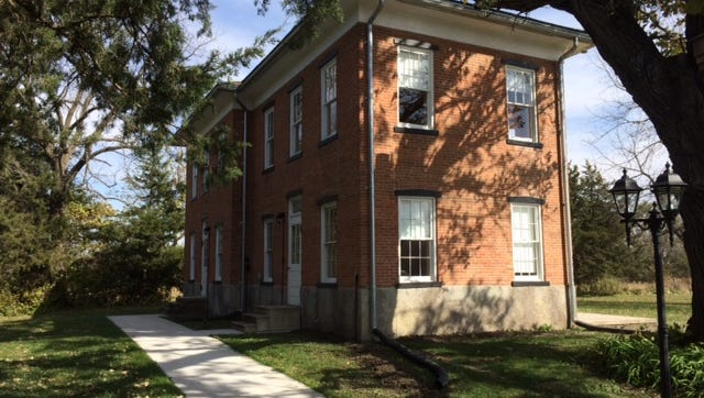 The Dayton Stagecoach Inn, which was once used for overnight guests riding covered wagons, is now open to rent.